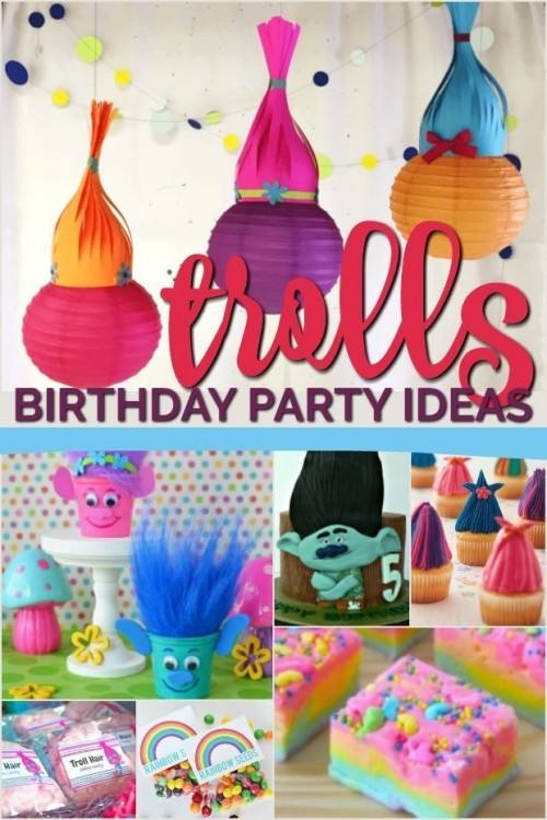 Trolls Centerpiece Ideas Here Are Some Great Trolls Cake Ideas To Inspire  You They Are Beautiful
