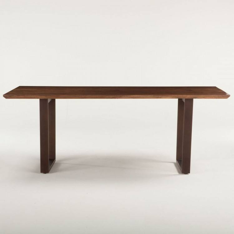 London Loft Live Edge Dining Table