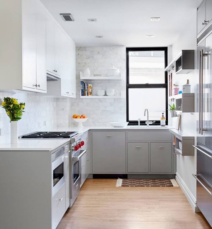 Full Size of Diy White Kitchen With Black Appliances Black White Repainting Kitchen  Cabinets Home Design