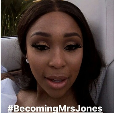 Their wedding ceremony planned by the talented aired as the first ever  wedding documentary in South Africa with the title Becoming Mrs Jones