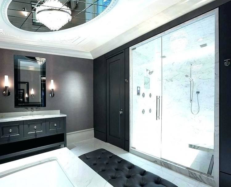 black white and silver bathroom ideas
