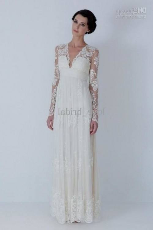 The Debra is our long sleeve wedding dress  and is
