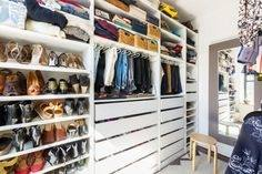 can design and build your closet to maximize  storage space at an affordable price