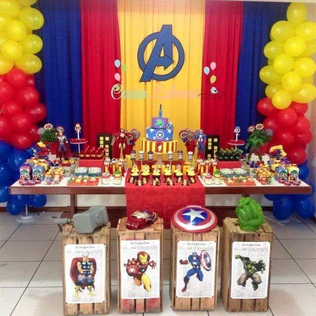Party ideas to help you throw an amazing MARVEL Avengers birthday party for  your child without breaking the bank
