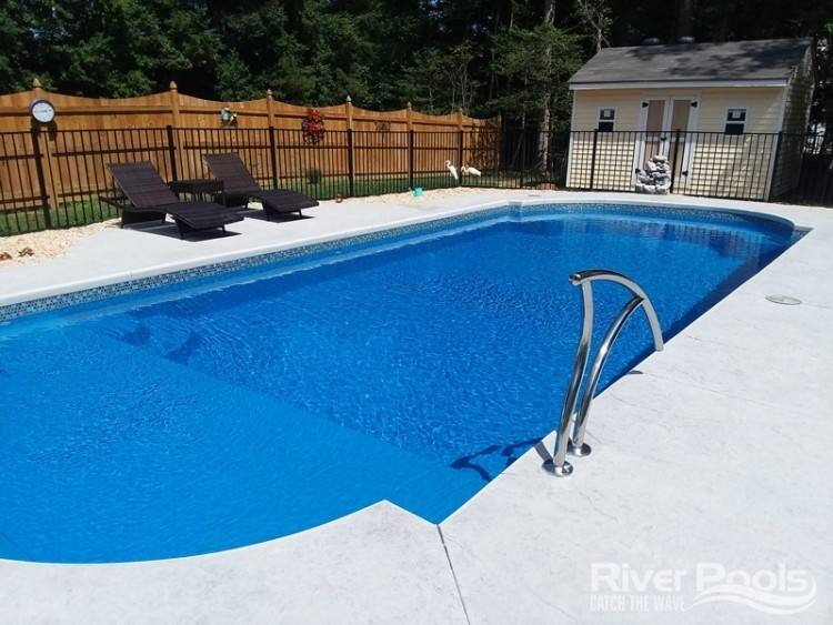 sun fiberglass pool glamorous fiberglass pool prices and design with dark  brown paving plantation relaxing sun