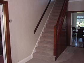 Stairway Landing Decorating Ideas Stair With Window
