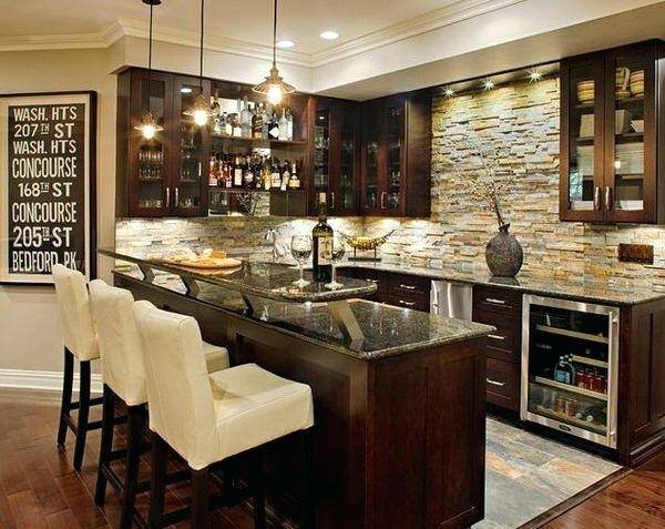 Impressive Basement Bar Ideas For Small Spaces Basement Bar Design Ideas  Pictures Remodel And Decor Page