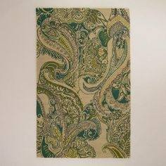 Shop Green Teal Paisley Photo Print created by FRUITLOOPY