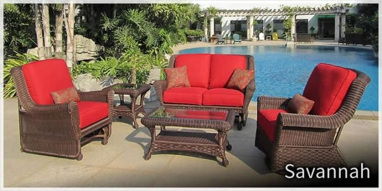 NAPA Wicker Seating Collection by Erwin & Sons Outdoor Furniture  [Subject to availability