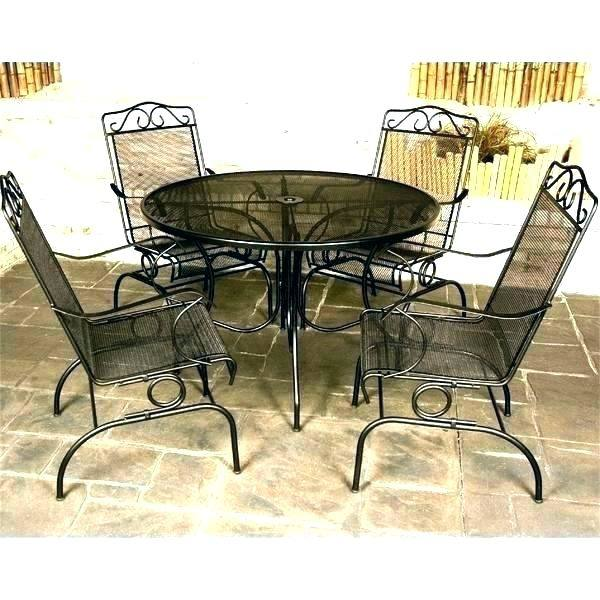 used wrought iron patio furniture large size of clearance sale near me seat  cushions