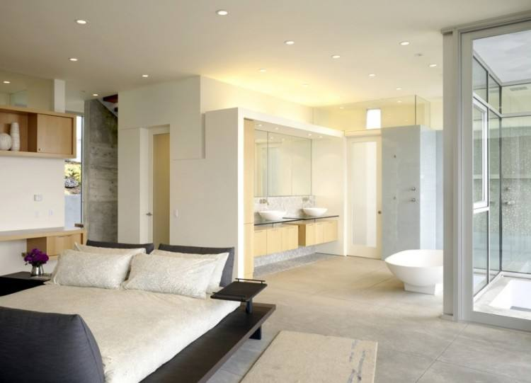 open plan bedroom bathroom open bedroom best open plan bedroom bathroom  ideas images on bathrooms bedrooms