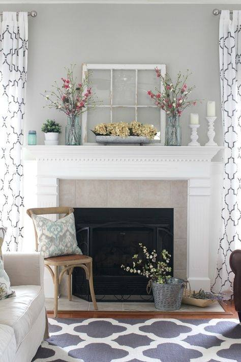 One of the most iconic places in your home to decorate for the seasons is  the fireplace mantel