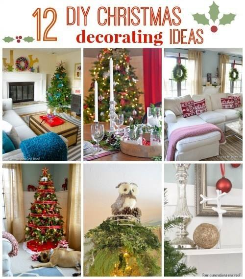 Wonderfully easy and simple Christmas decoration ideas