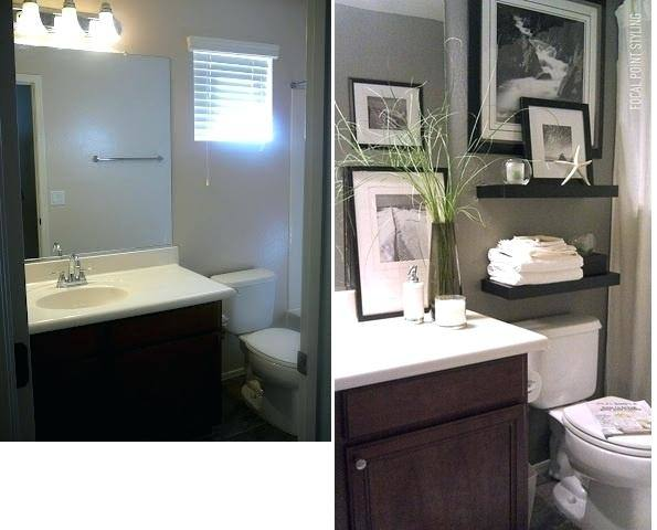 Small Apartment Bathroom Decorating Ideas Elegant 11 Easy Ways to Make  Your Rental Bathroom Look Stylish