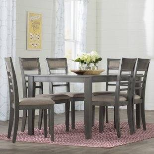 Liberty Carolina Lakes Weathered Gray 7pc Dining Room Set Click To Enlarge