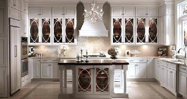 Distinctive Kitchen Cabinets With Glass Front Doors Traditional Home Within  Images Of Kitchen Cabinets With Glass Doors Ideas
