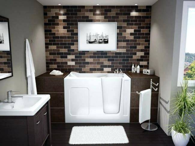 brown  bathroom design ideas