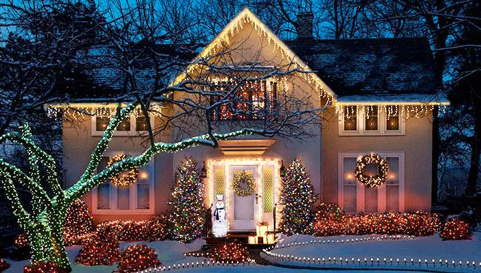 Outdoor Christmas Light Decorating Ideas Safety Considerations