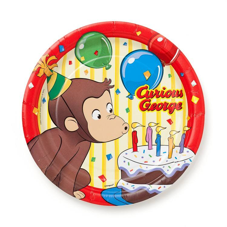 Curious Birthday Party Curious Cake Ideas Curious George Birthday Cake Ideas  Curious Birthday Cake Curious George Birthday Cake Toppers Curious George