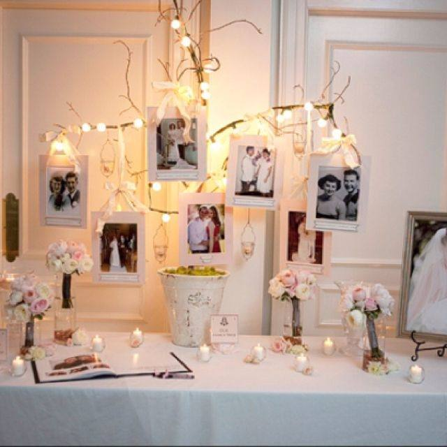 anniversary decoration ideas this is a beautiful year wedding party idea i  love the white lights