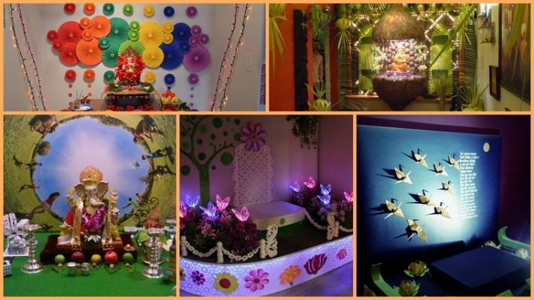 simple and eco friendly ganpati decorations marwadishaadi blog