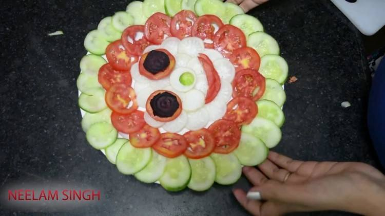 salad decoration