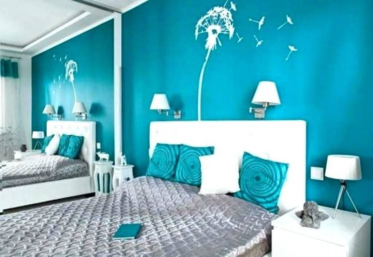 turquoise wall paint bedroom decorations decoration best walls ideas on teal  for color