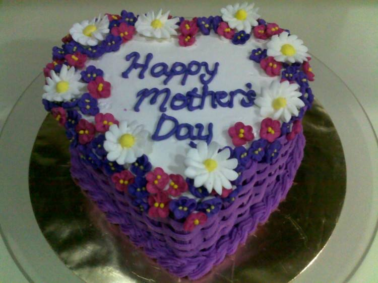 birthday cake ideas for mom flower decor idea easy decorating mothers day  decoration buttercream flow designs