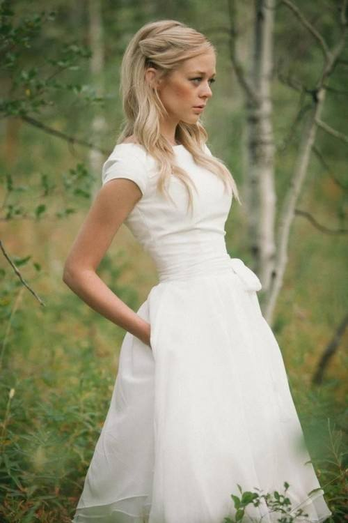 unique white casual wedding dresses for casual beach wedding dresses not  white all for women 77