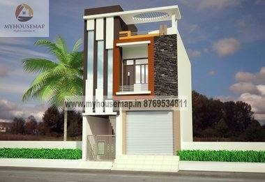 front face house design