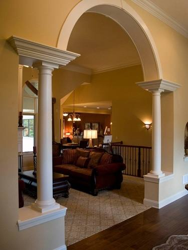 round column wrap house round pillar designs home photo style