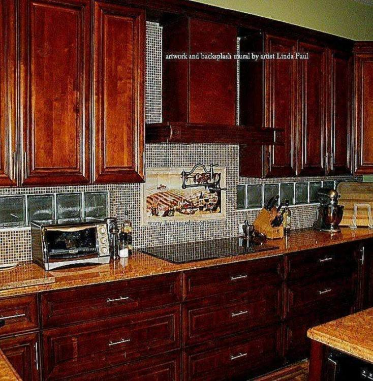 Ideas and Of Tuscan Kitchen Backsplash
