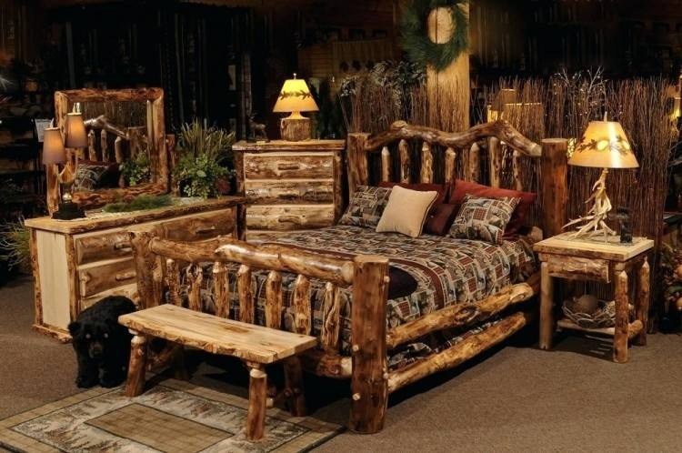 Log Bedroom Furniture Colorado