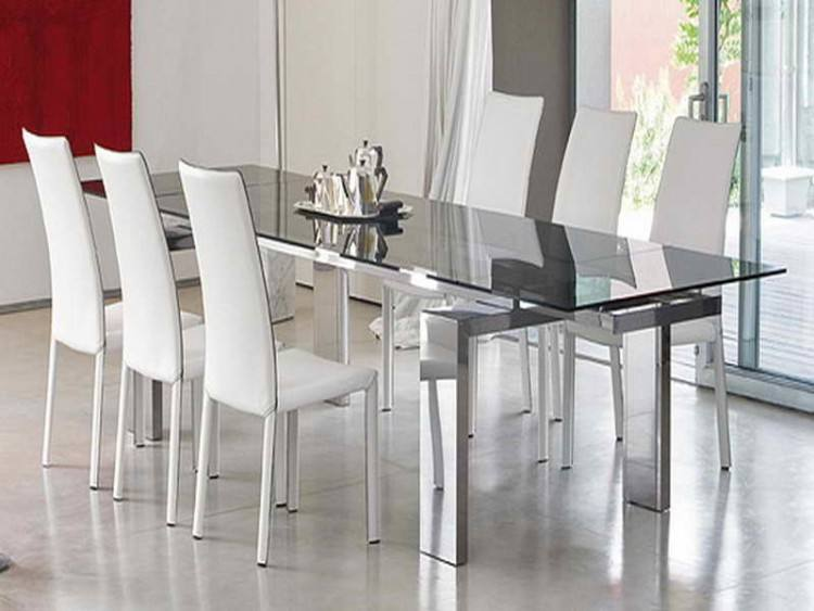 Large Size of Dining Room Black Glass Dining Room Sets Glass Metal Dining  Table Glass Dining