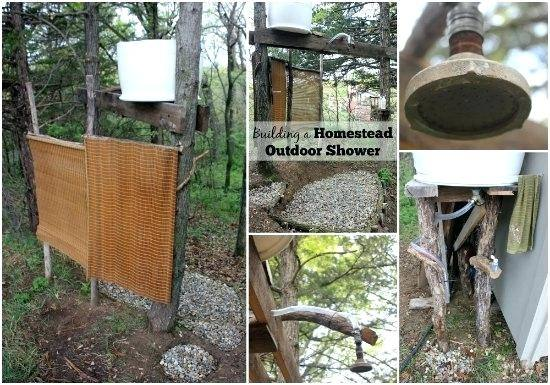 outdoor shower hot water cut stone theme outdoor shower w portable tank  less hot water heater