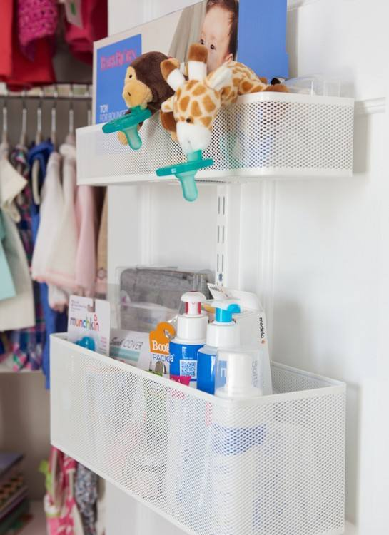 baby shoes storage