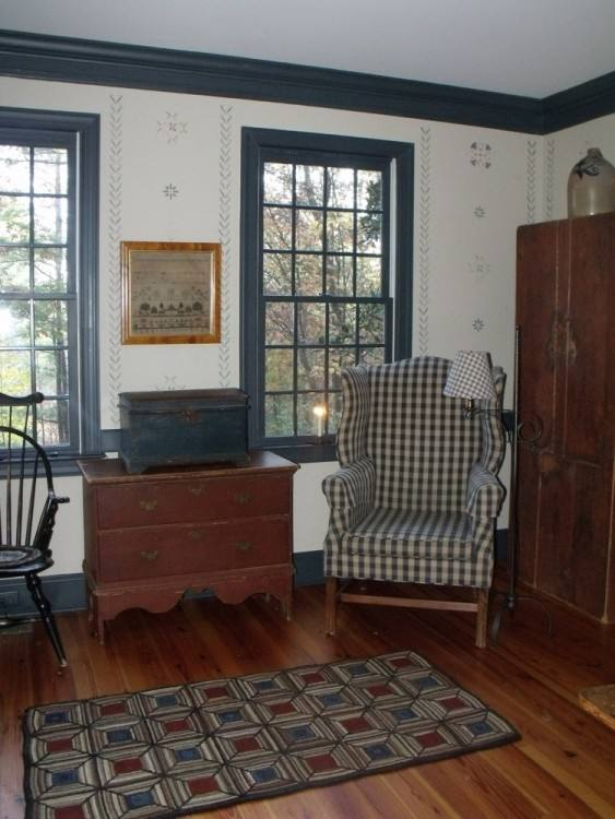 early american bedroom furniture