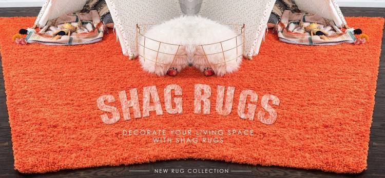 The shag rug is a type of rugs USA that characterized by a deep, thick  pile, which gives a shaggy appearance