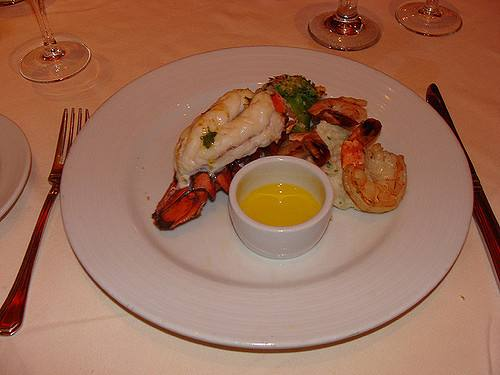 Carnival Valor has two main dining rooms