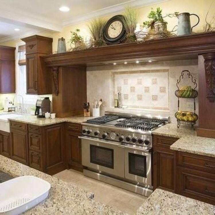 Top Of Kitchen Cabinets Decor Awesome 10 Ideas For Decorating Above HGTV  With Regard To 7 | Winduprocketapps