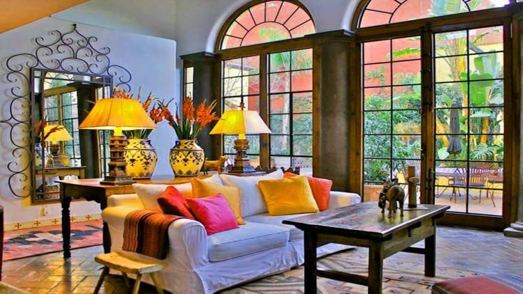 All those colors! See our favorite Mexican decor styles