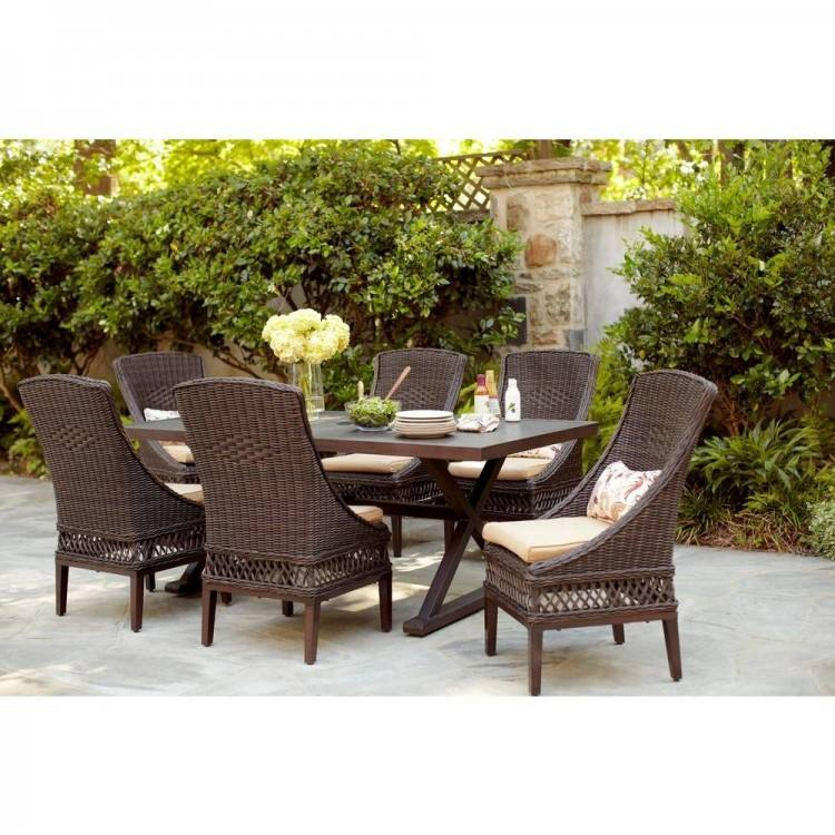 Hampton Bay Wicker Patio Set Bay Patio Furniture Bay Wicker Patio Furniture  Bay Wicker Patio Furniture Bay Patio Table Furniture Hampton Bay Woodbury 7
