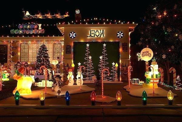 xmas yard  decoration ideas