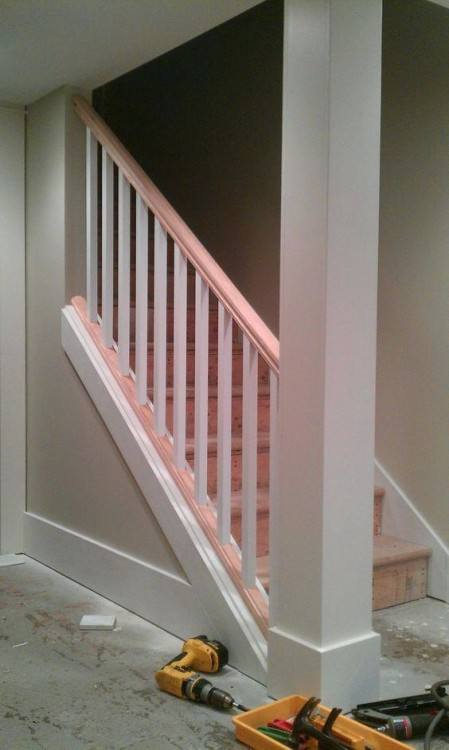 stair railing for wall oak wall mounted stair rail wall mounted stair rail ideas  basement stair