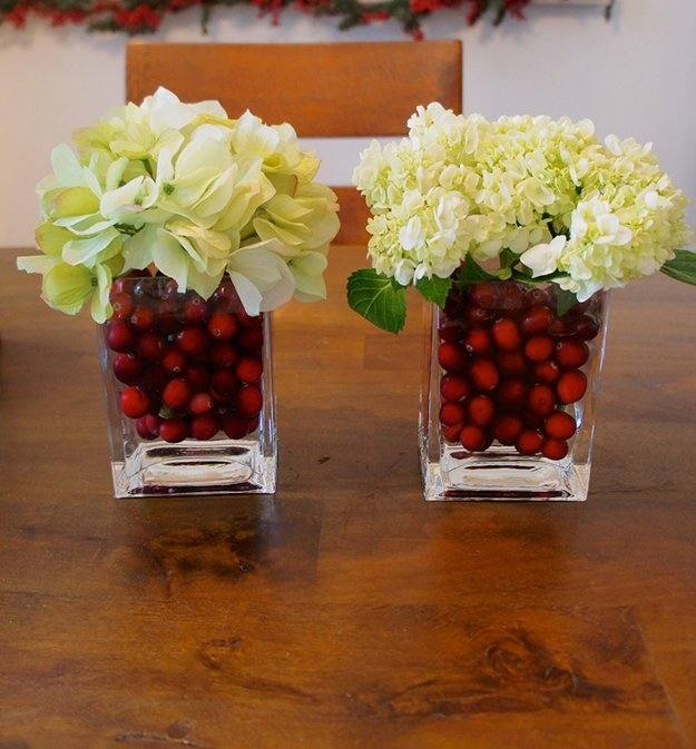 natural decorations 2 christmas vase fillers ideas decorating