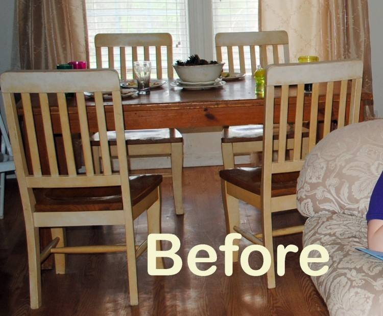 remarkable refinished dining