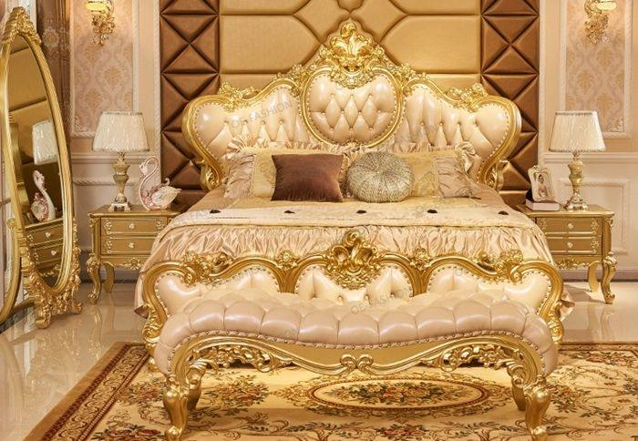 carved wood bed china classic leather handmade carving wooden bedroom  furniture royal home wardrobe hand