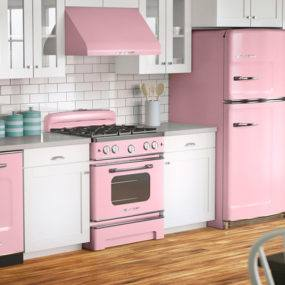 I really love planning the room, particularly pink kitchens area unit my  favorite