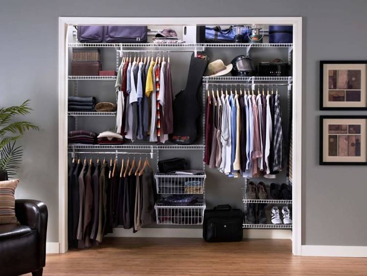 Rubbermaid Homefree Series Adjustable Mount Wire Shelving Kits New Closet  Organizers Lowes: Product Designs,