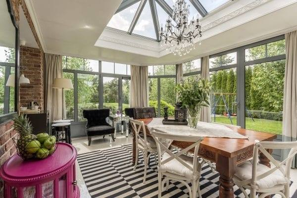 Here at I Want Wallpaper we've put together our top conservatory decor  tips, along with conservatory wallpaper ideas that will transform your  space